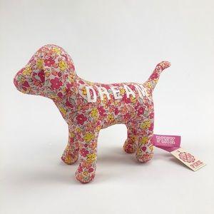 Victoria's Secret Pink Rare Dream Floral Plush Dog